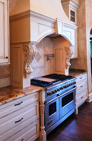 Custom Kitchen Appliances and Fixtures